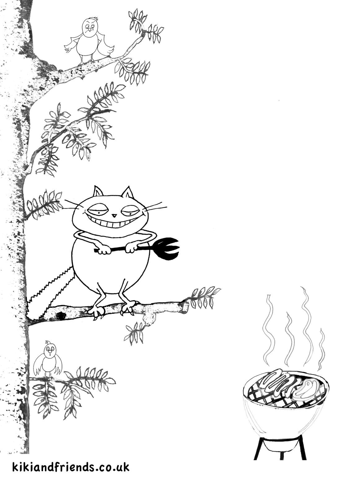 Kiki the Kung Fu Kitten - Banjo and BBQ