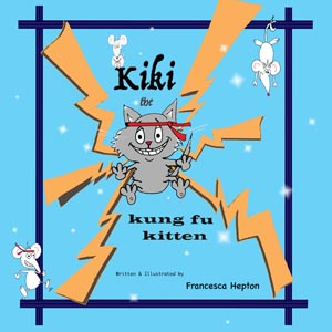 Kiki the kung fu kitten story for children