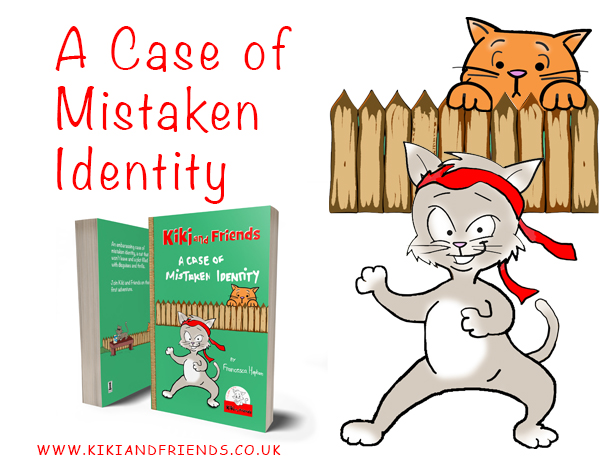 "Media Kit for ""A Case of Mistaken Identity"". Fun story in the Kiki and Friends series of books for early readers"