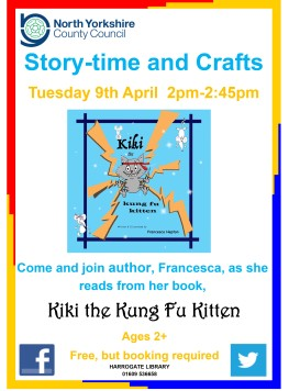 Storytime with Kiki