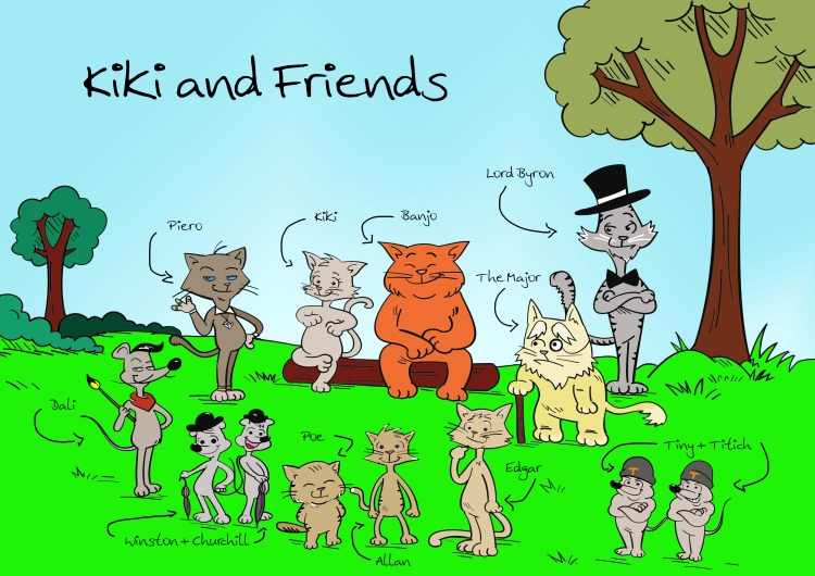 Kiki and Friends adventure stories