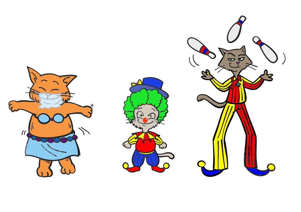 Kiki and Friends at the circus