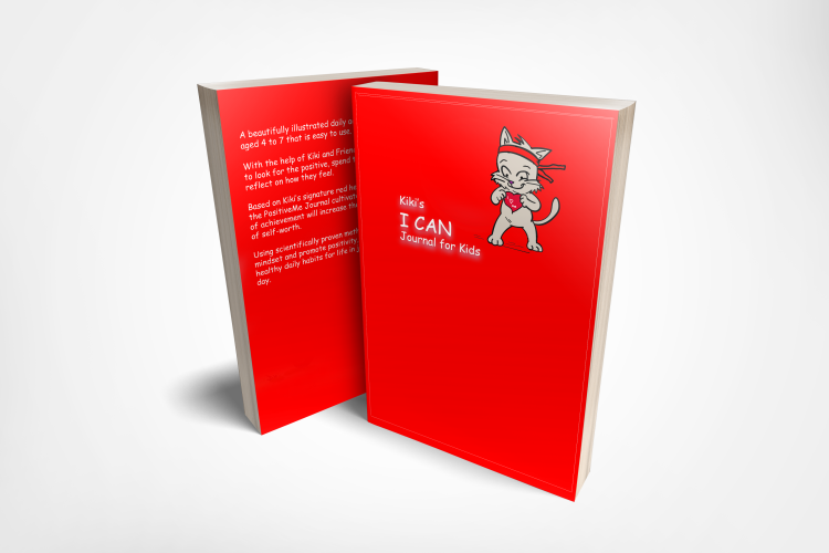 Based on Kiki's signature red headband for confidence, the I CAN Journal cultivates your child's daily sense of achievement will increase their self-belief and sense of self-worth.