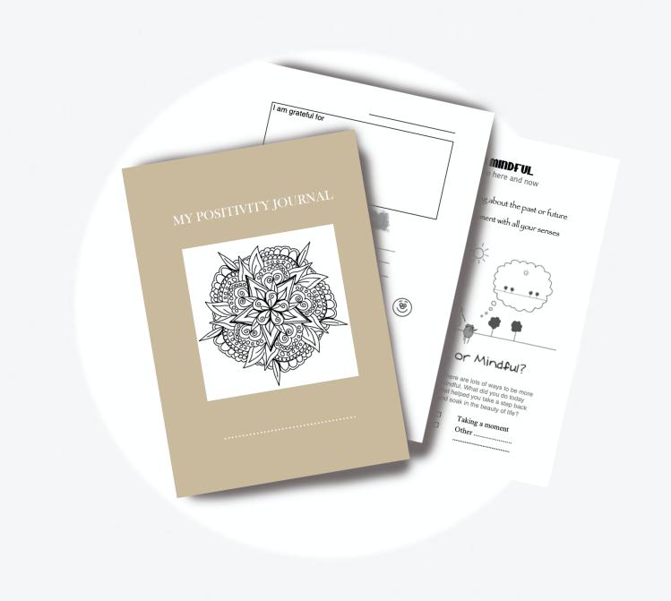 Positivity Journal for Kids - to nurture a positive mindset