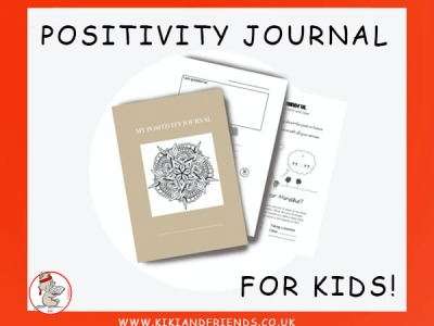 Positivity Journal for Kids - to nurture a positive mindset. Claim your FREE e-version
