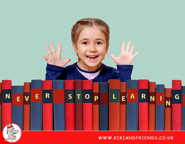 Learning expands your child's horizons and knowledge base. This gives them more confidence to express themselves and feel more assured as they navigate through life's challenges.