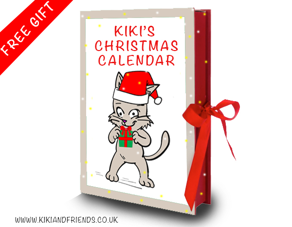 Kiki's FREE Christmas Calendar with links and QR Codes. Just click or scan to open up your window of surprise. Definitely more fun than chocolates. And yes, it's free. A little treat after such a strange year.