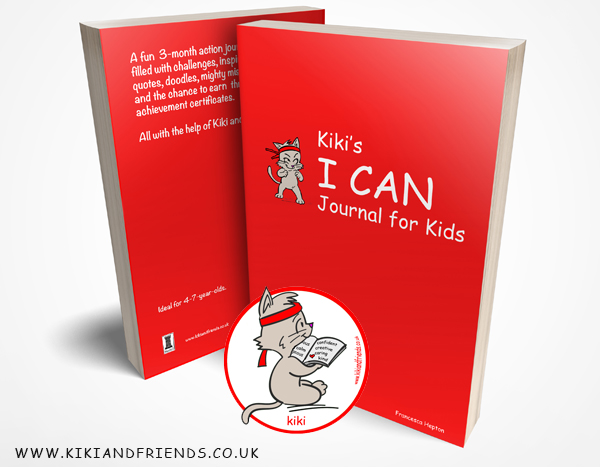 3-Month Daily Journal For Children: Kiki's I CAN Journal for Kids encourages children to look for the positive, spend time being mindful and reflect on how they feel. Its scientifically proven methods promote a confident mindset and nurture healthy choices.