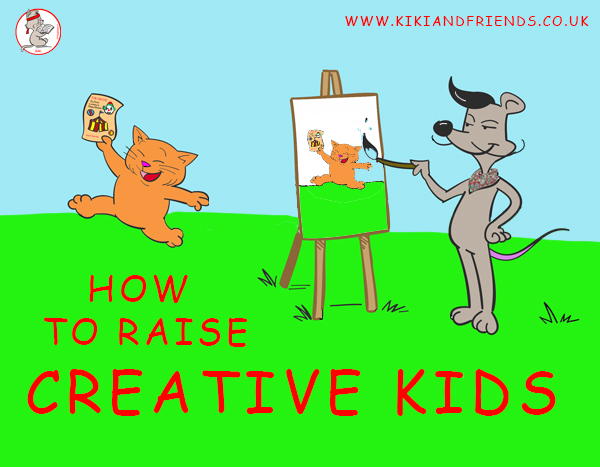 How to Raise Creative Kids - help your child blossom to their full potential.