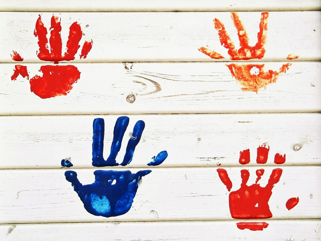 Provide children with the materials and space to be creative and express themselves.