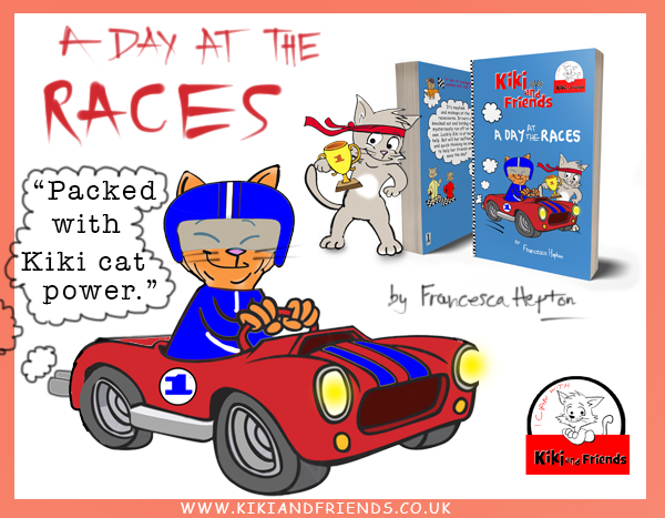 A Day at the Races. A fast-paced Kiki and Friends story inspiring little kids to dream big.