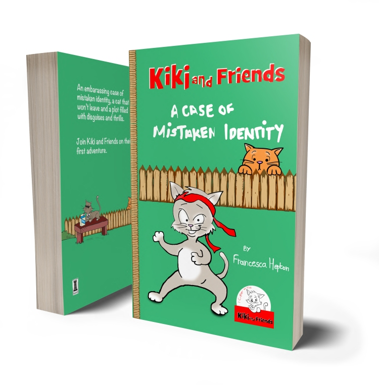 A Case of Mistaken Identity. First book in the kiki and Friends series.