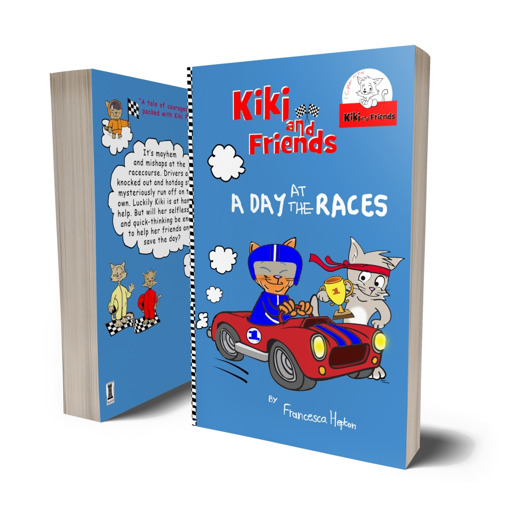 A Day at the Races - A thrilling story for early readers from the Kiki and Friends series. Packed with a whole lot of Kiki power