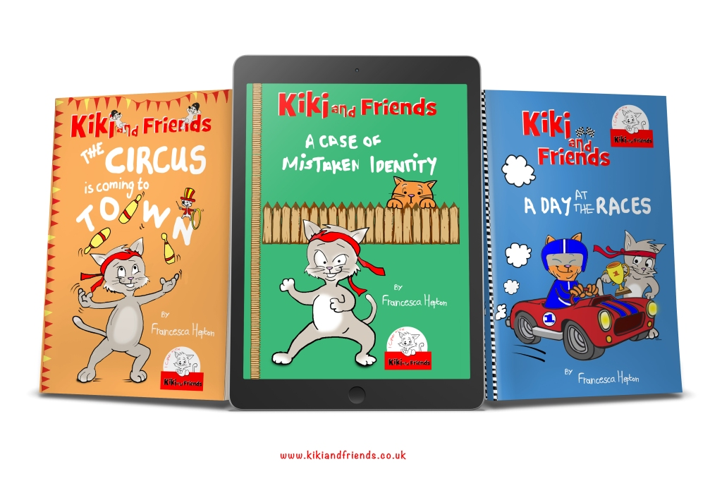 3 Books from the Kiki and Friends series for early readers - available as paperback and ebook